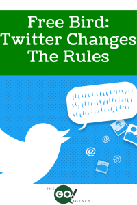 Free Bird: Twitter Changes the Rules