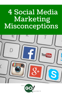 4 Social Media Marketing Misconceptions