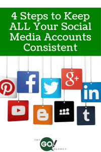 4  Steps to Keep ALL Your Social Media Accounts Consistent