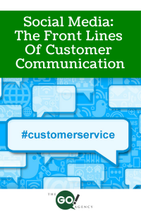 Social Media: The Front Lines Of Customer Communication