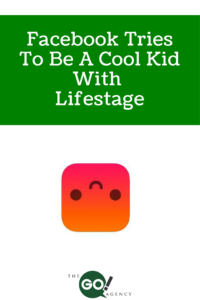 Facebook Tries To Be A Cool Kid With Lifestage