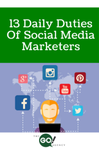 13 Daily Duties Of Social Media Marketers and Bloggers