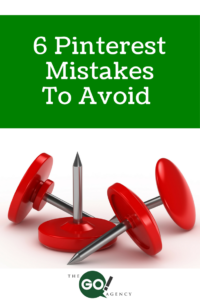 6 Pinterest Mistakes To Avoid