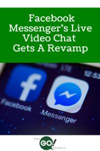 Facebook Messenger's Live Video Chat Gets a Revamp