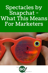 Spectacles by Snapchat- What This Means For Marketers