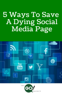 5 Ways To Save A Dying Social Media Page