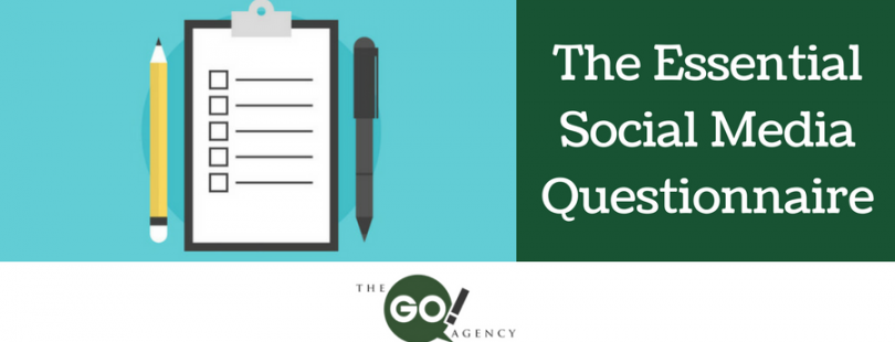 The Essential Social Media Questionnaire