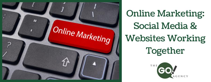 Online Marketing: Social Media AND Websites Working Together