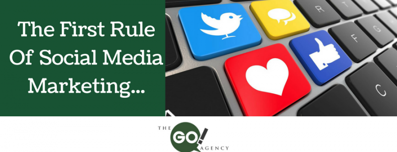 The First Rule Of Social Media Marketing BLOG copy