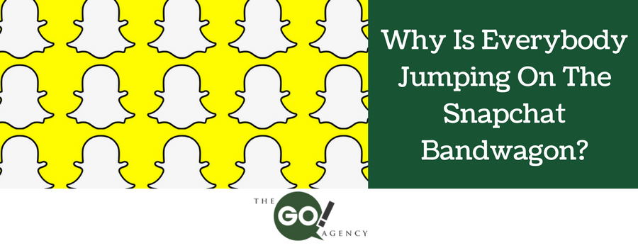 Why Is Everybody Jumping On The Snapchat Bandwagon?
