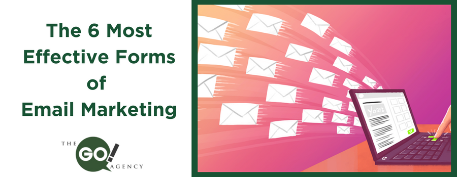 The 6 Most Effective Forms of Email Marketing